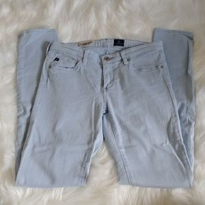Adriano Goldschmied Light Blue Legging Pants